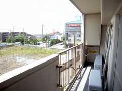 ラウンジ,3051号室から出る事ができるベランダ(2007-05-31,共用部,OTHER,3F)