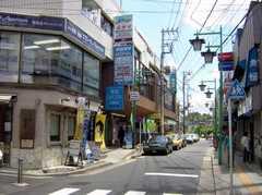 各線菊名駅からシェアハウスへ向かう道の様子。(2007-05-31,共用部,ENVIRONMENT,1F)
