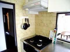 キッチンの様子。(2007-05-10,共用部,KITCHEN,3F)