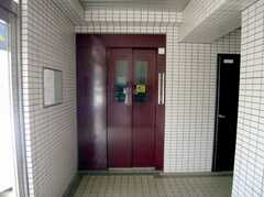 マンションのエレベーターの様子。(2007-05-10,共用部,OTHER,1F)