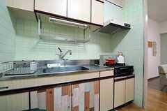 キッチンの様子2。(2013-07-09,共用部,KITCHEN,4F)