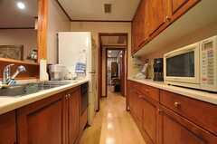 キッチンの様子2。(2014-01-30,共用部,KITCHEN,1F)
