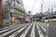 各線・山手駅前の様子。(2014-01-30,共用部,ENVIRONMENT,1F)