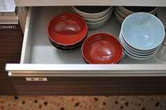 食器や調理器具は、ひと通り揃っています。(2014-03-03,共用部,LIVINGROOM,1F)