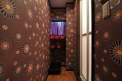 脱衣室の様子。(2014-03-03,共用部,BATH,1F)