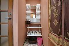 洗面台の様子。(2015-09-10,共用部,OTHER,2F)