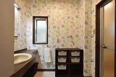 脱衣室の様子。(2016-06-14,共用部,BATH,1F)