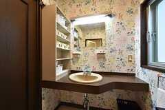 洗面台の様子。(2016-06-14,共用部,OTHER,1F)