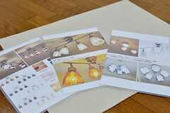 照明は好みのものから選べます。(305号室)(2016-03-11,専有部,ROOM,3F)