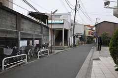 京急本線・鶴見市場駅の様子。(2012-02-16,共用部,ENVIRONMENT,1F)