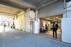 JR・石川町駅の様子(2018-09-05,共用部,ENVIRONMENT,1F)