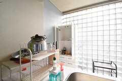 食器棚の様子。(2016-07-29,共用部,KITCHEN,2F)