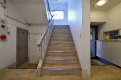 階段の様子。(2018-03-02,共用部,OTHER,1F)