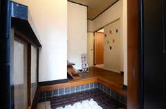 正面玄関から見た内部の様子。(2016-04-05,周辺環境,ENTRANCE,1F)