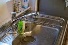 シンクの様子。浄水機能付きです。(2013-11-06,共用部,KITCHEN,1F)