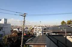 部屋からの眺望。(204号室)(2012-02-03,専有部,ROOM,2F)