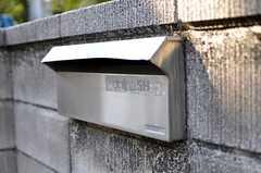 郵便ポストの様子。(2012-02-03,共用部,OTHER,1F)