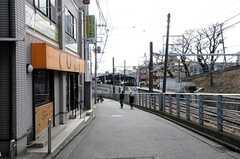 東急東横線・大倉山駅からシェアハウスへ向かう道の様子。(2012-02-03,共用部,ENVIRONMENT,1F)