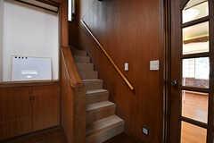 階段の様子。(B棟)(2017-02-15,共用部,OTHER,1F)