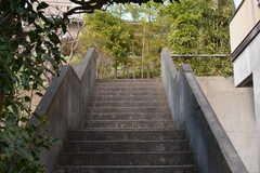 更に階段を上ります。(2017-03-22,周辺環境,ENTRANCE,1F)