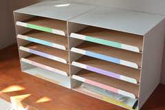 郵便物はレターケースに振り分けられます。(2017-03-22,周辺環境,ENTRANCE,2F)