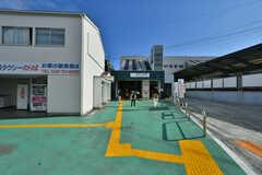 京急本線・金沢文庫駅の様子。(2019-08-08,共用部,ENVIRONMENT,1F)