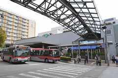 東急田園都市線・青葉台駅の様子。(2011-04-15,共用部,ENVIRONMENT,1F)