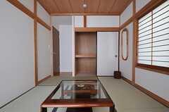 収納の様子。(101号室)(2011-09-14,専有部,ROOM,1F)