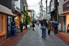 杉田駅から続く商店街の様子。(2017-03-28,共用部,ENVIRONMENT,1F)