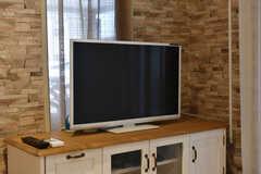 TVの様子。(2018-02-23,共用部,TV,1F)