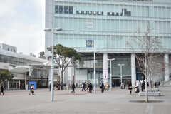 各線・桜木町駅周辺の様子。(2018-02-23,共用部,ENVIRONMENT,1F)