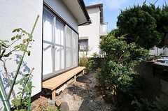 庭の様子。(2013-03-04,共用部,OTHER,1F)