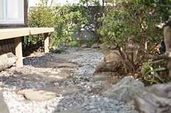 庭の様子2。(2013-03-04,共用部,OTHER,1F)