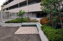 屋上のベンチ。(2010-10-19,共用部,OTHER,9F)