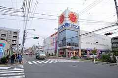 JR横浜線・大口駅からシェアハウスへ向かう道の様子2。(2010-10-19,共用部,ENVIRONMENT,1F)