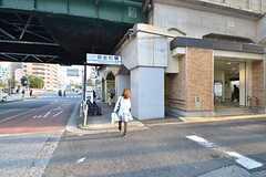 京急本線・黄金町駅の様子。(2015-10-21,共用部,ENVIRONMENT,1F)