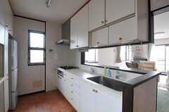 キッチンの様子。(2012-03-02,共用部,KITCHEN,2F)