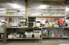 キッチン家電の様子3。(2012-02-10,共用部,KITCHEN,1F)