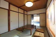 ゲストルームの様子。友人や家族が遊びにきたときには、宿泊も可能です。(2012-02-10,共用部,OTHER,1F)