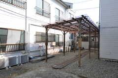 将来、玄関を予定している場所とのこと。(2012-02-10,共用部,OTHER,1F)