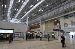 東急田園都市線・たまプラーザ駅の様子2。(2011-11-11,共用部,ENVIRONMENT,1F)