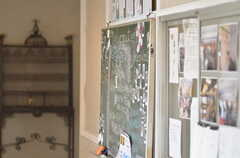 コミュニケーション用の黒板。(2012-04-21,共用部,OTHER,1F)