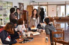 パーティーの様子5。(2012-04-21,共用部,PARTY,1F)