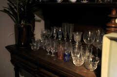お酒好きの人も多いのだそう。(2014-06-02,共用部,LIVINGROOM,1F)