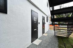 専有部のドア。(A-102号室)(2017-05-09,専有部,ROOM,1F)