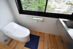 レンタルスペースのトイレの様子。(2017-05-09,共用部,OTHER,2F)