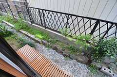 庭の様子。(101号室)(2015-04-27,専有部,ROOM,1F)