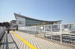 相鉄本線・西横浜駅の様子。(2015-04-27,共用部,ENVIRONMENT,1F)