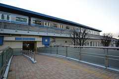 横浜市営地下鉄ブルーライン・上永谷駅の様子。(2016-02-04,共用部,ENVIRONMENT,1F)