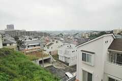 シェアハウスは高台にあります。(2014-05-15,共用部,ENVIRONMENT,1F)